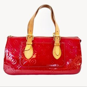 Louis Vuitton Rosewood Pomme D'Amour Vernis Bag